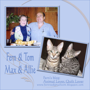 Purrs & Prayers Request for Fern