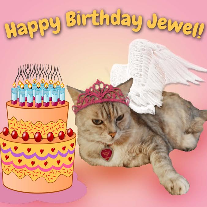Happy Birthday Jewel!