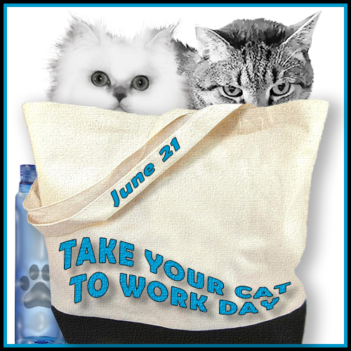 Take Your Cat To Work Day – Blog Links For Thursday 6/21