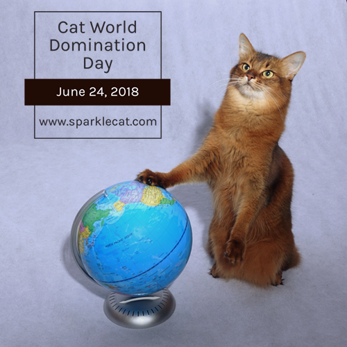 Cat World Domination Day – Sunday 6/24 Blog Links