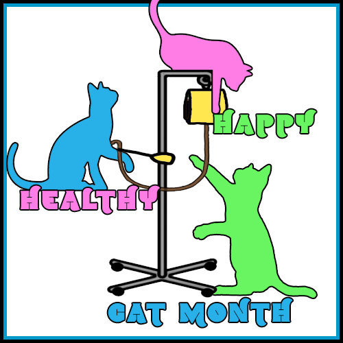 Happy Cat Month Blog Links