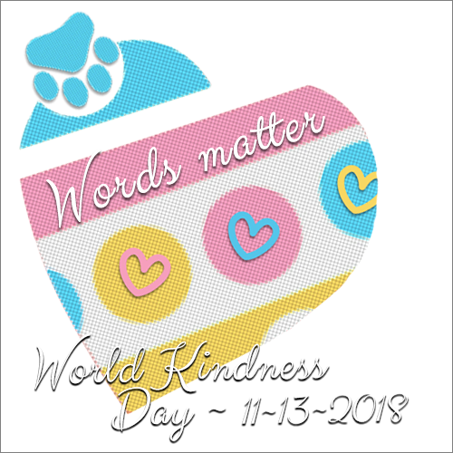 Tuesday World Kindness Day 11/13 Blog Links