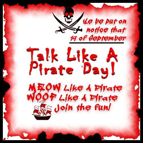 Meow Like A Pirate Blog Links 9/19