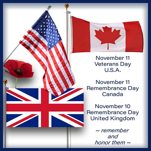 Veteran's Day 11/11 Posts