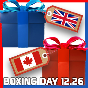 Boxing Day 12/26 Blog Links