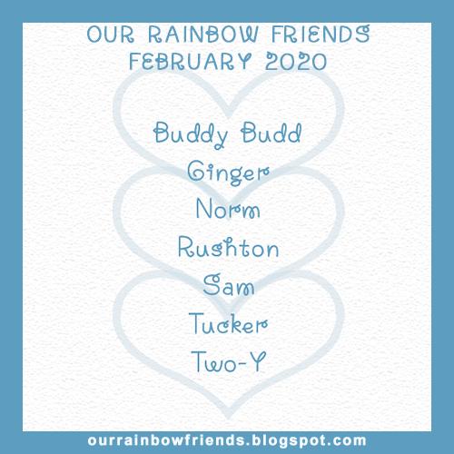Our Rainbow Friends (February)