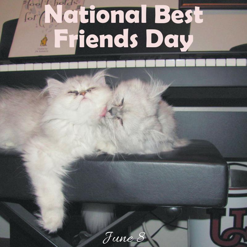 National Best Friends Day 6/8 Blog Links