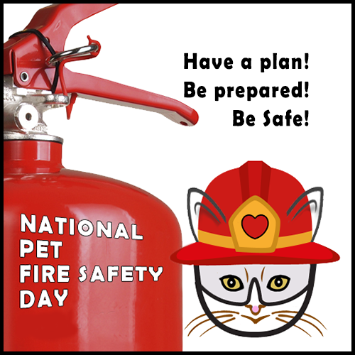National Pet Fire Safety Day 7/15 Blog Links
